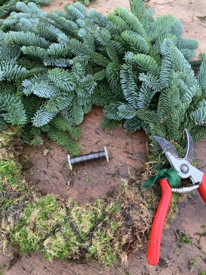 Wreath workshops and decoration demonstrations